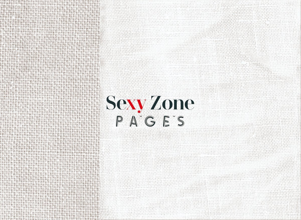 Sexy Zone/PAGES [DVD부착첫회한정반 B]