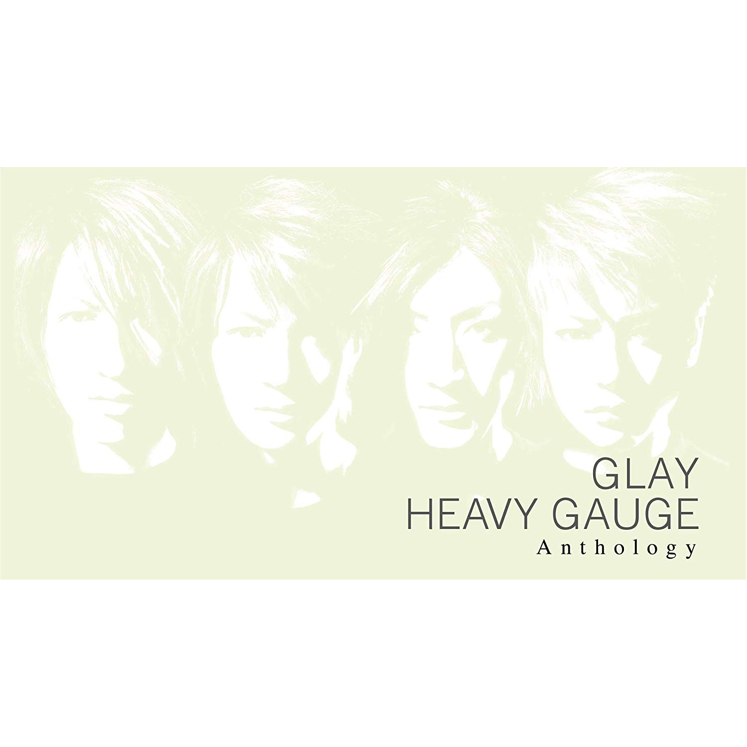 GLAY/HEAVY GAUGE Anthology [2CD+Blu-ray]