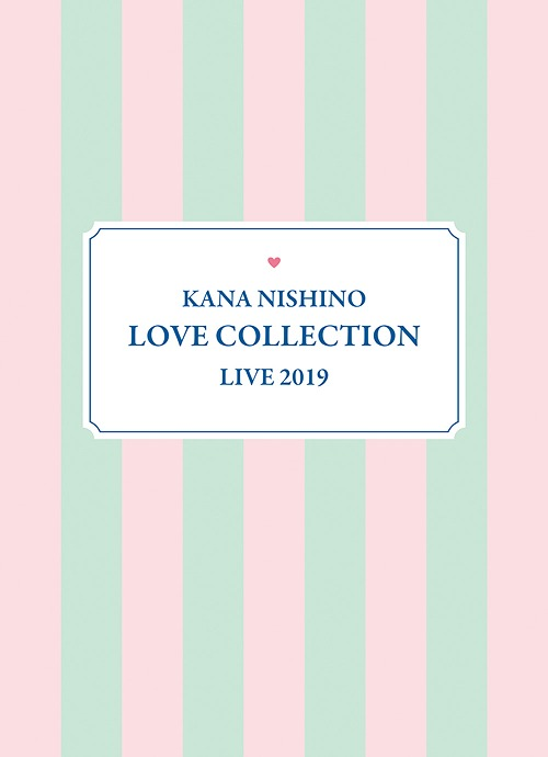 Nishino Kana/Kana Nishino Love Collection Live 2019 [2Blu-ray+굿즈/완전생산한정반]
